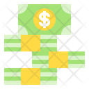 Money Stack Finance Business Icon