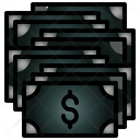 Money Stack Stow Icon