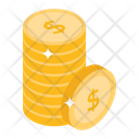 Dollar Stack Money Stack Asset Icon