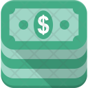 Money Stack Dollars Icon