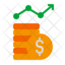 Penny Stats Growth Icon