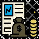 Money News Report Icon