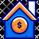 House Money Storage Property Icon