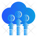 Cloud Marketing Advertising Icon