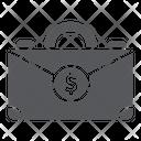 Money Suitcase Bag Icon