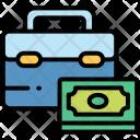 Money suitcase Icon