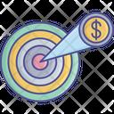 Money Dart Focus Icon