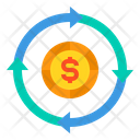 Money Currency Arrow Icon