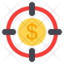 Money Target Target Money Icon