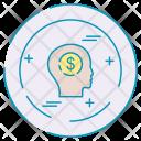 Money Thinking Mind Icon
