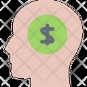 Money Thinking Thinking Earnings Thought Icon