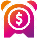 Money Time Time Tax Reminder Icon