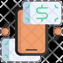 Money Transaction Money Transfer Transfer Icon