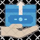 Disbursement Expenses Money Transfer Icon