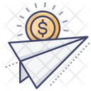 Money Transfer Flow Icon
