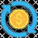Transfer Money Dollar Icon