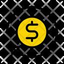 Dollar Transfer Exchange Icon
