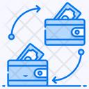 Money Transfer Fund Transfer Cash Transfer Icon