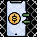 Money Transfer Exchange Icon
