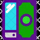 Mobile Transfer Banking Icon