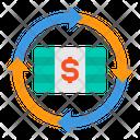 Money Cash Transfer Icon