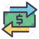 Money Transfer Currency Exchange Icon