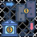 Money Transfer Exchange Money Icon