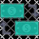 Money Transfer Dollar Transfer Dollar Icon