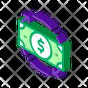 Money Dollar Bank Icon