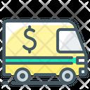 Encashment Car Transport Icon