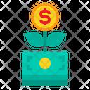 Money Tree Financial Icon