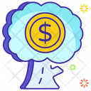 Money Tree Financial Growth Business Tree Icon