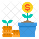 Money Tree Dollar Tree Profit Icon
