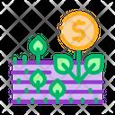 Money Tree Field Icon