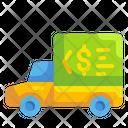 Truck Car Shipping Icon