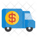 Money Truck Delivery Icon