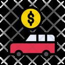 Vehicle Dollar Money Icon