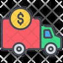 Money Truck Truck Money Icon