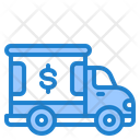 Money Truck Truck Delivery Icon