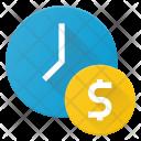 Money Value Time Icon