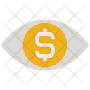 Business Finance Eye Icon