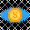 Money View Eye View Icon
