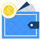 Money Wallet Cash Wallet Money Purse Icon