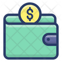 Money Wallet Cash Wallet Cash Pouch Icon