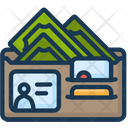 Credit Card Cash Wallet Icon