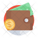 Wallet Purse Billfold Wallet Icon
