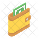 Money Wallet Purse Billfold Wallet Icon