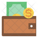 Wallet Money Business Icon