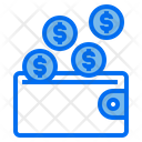 Wallet Coin Money Icon