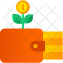 Money Wallet Money Plant Money Growth Icon